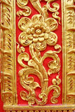 стена цветка золотистая Стоковая Фотография RF