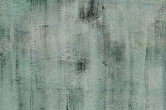 Стена цемента зеленого цвета Стоковая Фотография