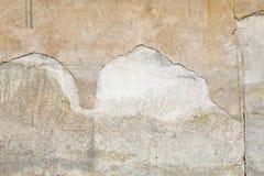 Стена цемента Grunge конкретная с отказом Стоковое Изображение RF