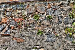 Стена церков в Frydlant Стоковые Фото