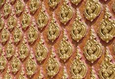 Стена церков штукатурки Таиланда искусств Стоковые Фото
