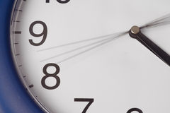 стена часа руки часов идя Стоковое фото RF