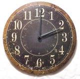 стена часов старая Стоковое Изображение RF