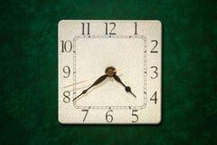 стена часов старая Стоковые Изображения RF