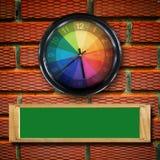 стена часов Стоковое фото RF