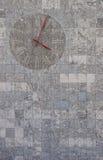 стена часов Стоковая Фотография