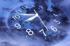 стена часов Стоковое Фото