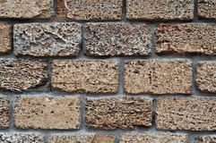 Стена части каменная Стоковые Изображения
