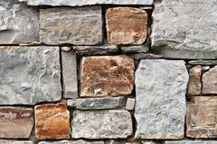 Стена части каменная Стоковые Изображения RF