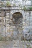 Стена части старая каменная Стоковое Изображение RF