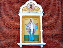 стена части церков старая Стоковая Фотография