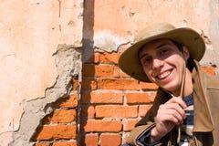 стена человека Стоковые Фото