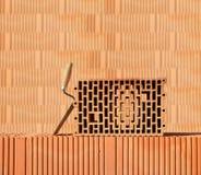 стена чертежа цвета здания кирпича Стоковое Изображение