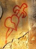 стена чертежа Стоковые Фото