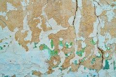 Стена шелушения Стоковая Фотография