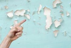 Стена шелушения Стоковое Фото