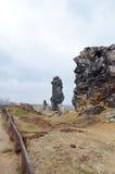 Стена дьявола Стоковые Фотографии RF