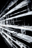 Стена льда блока Стоковые Фотографии RF