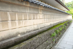Стена Японии в Кюсю Стоковая Фотография