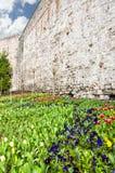 Стена 02 города Стамбула Стоковые Изображения RF