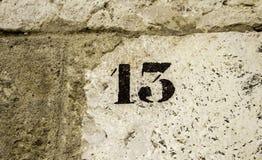 Стена 13 Стоковые Фото