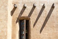 Стена Adobe стоковое фото rf