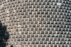 Стена Ashlar сделанная серого камня стоковое фото