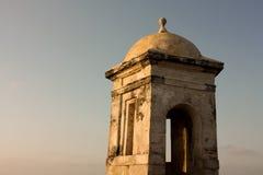 стена cartagena Колумбии колониальная de indias Стоковое Изображение