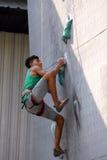 Стена cimbing Стоковые Изображения RF
