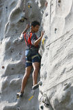 Стена cimbing Стоковая Фотография RF