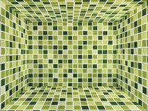 стена 3d с текстурой плиток Стоковые Фотографии RF