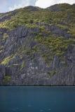Стена El Nido скалистой горы Стоковая Фотография RF