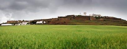 Стена Estremoz Стоковое фото RF