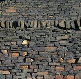 Стена Gritstone Стоковые Изображения