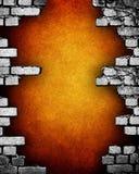 стена grunge кирпича Стоковое фото RF