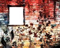 стена grunge кирпича бесплатная иллюстрация