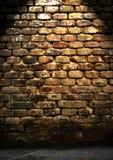 стена grunge кирпичей Стоковая Фотография