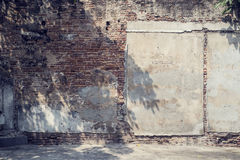 Стена Grunge старого дома Стоковые Фотографии RF