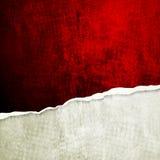 Стена Grunge с сломленным краем Стоковая Фотография