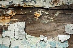 Стена Grunge с текстурой краски шелушения Стоковые Изображения