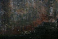 Стена Grunge для предпосылки Стоковое Фото