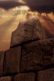 стена inca Стоковое Изображение