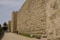 стена jerusalems Стоковые Изображения