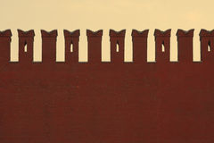 стена kremlin Стоковые Фотографии RF