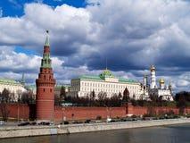 стена kremlin moscow России Стоковое фото RF