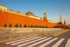 стена kremlin moscow Стоковая Фотография RF