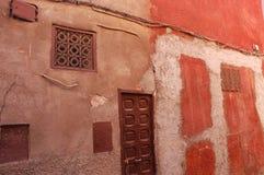 стена marrakech стоковые фотографии rf