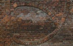 Стена masonry кирпича Стоковое Изображение