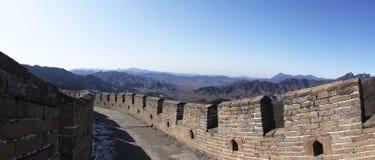 стена mutianyu фарфора большая Стоковое Изображение