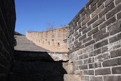 стена mutianyu фарфора большая Стоковое Изображение RF